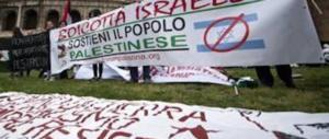 Gli attivisti pro-Gaza vanno lo stesso in Campidoglio, ma senza Fassina