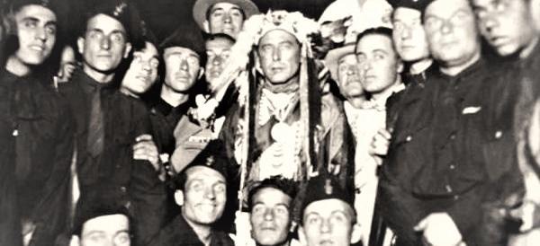 Cervo Bianco, il falso capo indiano che beffò pure Mussolini