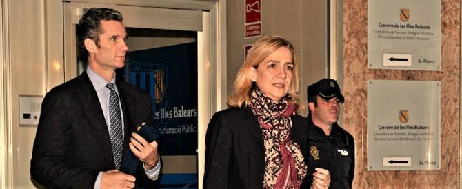 Assolta la sorella del re di Spagna Cristina. Il marito condannato a 6 anni