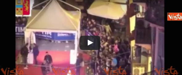Per sorvegliare il Festival di Sanremo un drone pilotato dalla polizia (video)