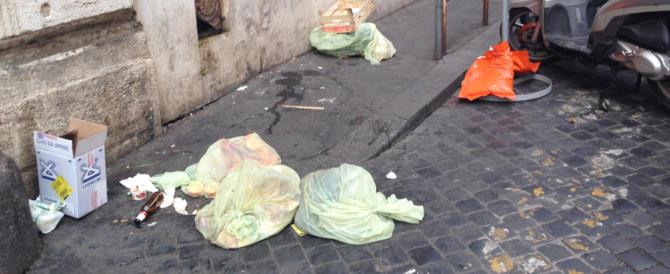 Roma, lo schifo in via della Scrofa. Forza Grillo, telefona alla Raggi!