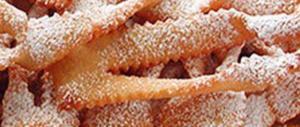 Carnevale da record: si mangeranno 12 milioni di chili di frappe e bugie