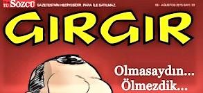 Girgir, il Charlie Hebdo turco, si autocensura per una vignetta su Mosè