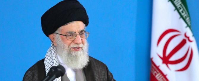 Khamanei: Iran in piazza contro gli Usa, Trump e Obama stessa cosa
