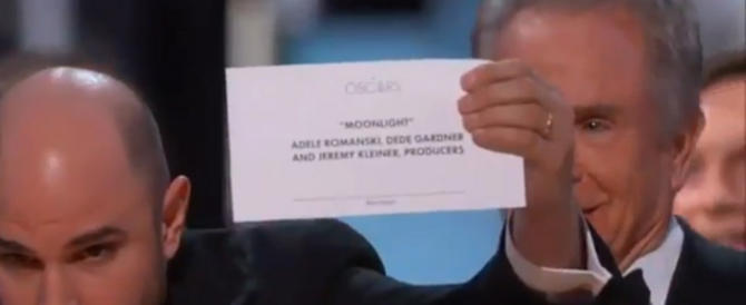 Accuse e minacce dal web: sotto scorta i 2 responsabili della gaffe agli Oscar (video)