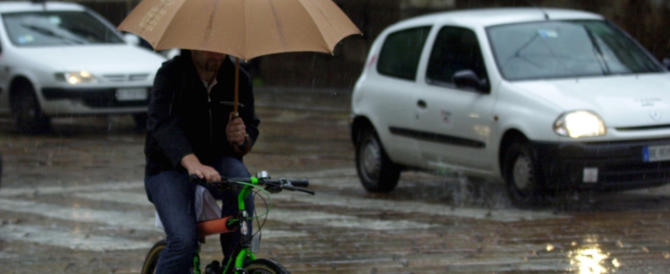 Nelle prossime ore infuria il maltempo su tutto il centro Italia e sulla Sicilia