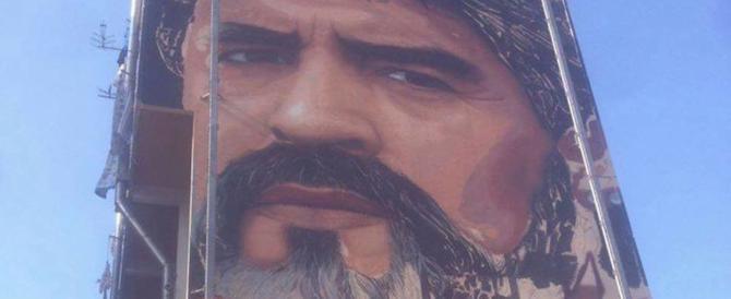 A San Giovanni a Teduccio il murales di Maradona più grande del mondo