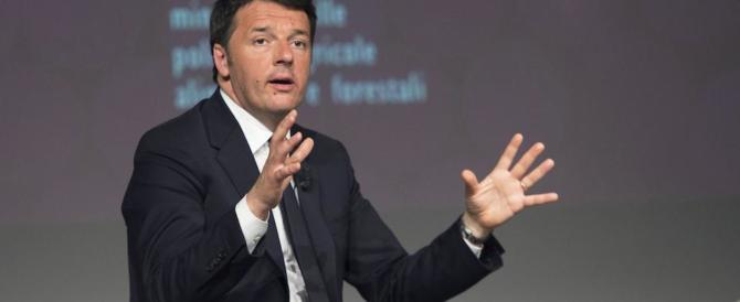 Renzi si ricandida a premier: «A correre deve essere il segretario Pd»