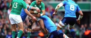 Sei nazioni di rugby: Italia asfaltata (senza lottare) anche dall'Irlanda