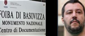 """Gli esuli: """"Stato assente, Salvini benvenuto alla foiba di Basovizza"""""""