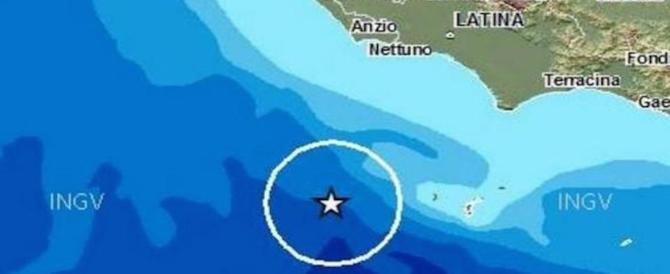 Terremoto, nuove scosse nella notte in Abruzzo e al largo dell'isola di Ponza