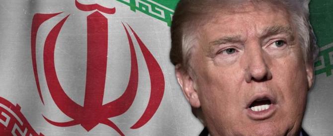 Iran, «assicuratevi contro le catastrofi»: e c'è la faccia di Trump