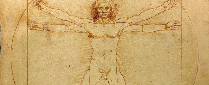 """Una melodia """"nascosta"""" nell'Uomo Vitruviano: ecco la musica di Leonardo (video)"""
