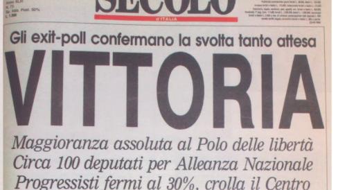 """Forza Italia ricorda il 27 marzo '94: """"Il centrodestra unito resta vincente"""""""