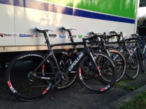 Le quattro bici dal valore complessivo di 60mila euro