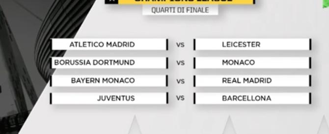 Champions, la Juve trova il Barcellona di Messi. Buffon: «Non abbiamo paura»