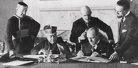 """70 anni fa il Concordato entrò nella Carta: il duce rimase l'""""uomo della Provvidenza"""""""