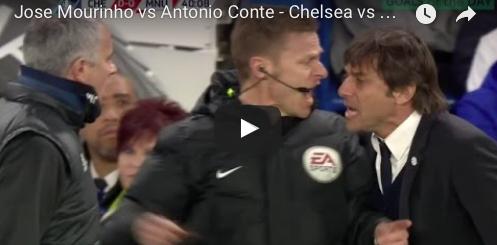 Tra Conte e Mourinho volano parole grosse ed è quasi rissa (VIDEO)
