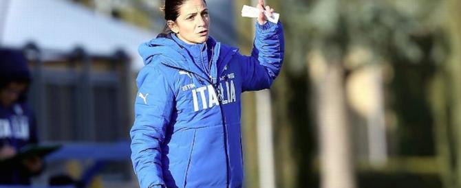 """Italia-Germania, un'altra """"storica"""" vittoria con """"miss"""" Panico in panchina"""