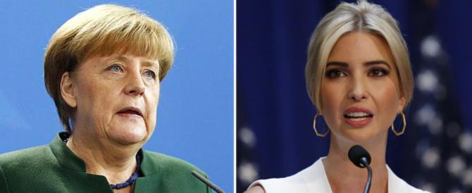Inizia a sgretolarsi il muro anti Trump: la Merkel invita Ivanka
