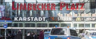 Germania, allarme per attacco suicida: chiuso il Limbecker Platz di Essen