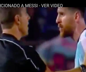 Messi insulta la mamma del guardalinee: la Fifa lo stanga (VIDEO)