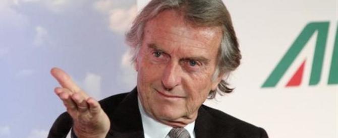 Montezemolo pronto a lasciare la presidenza di Alitalia