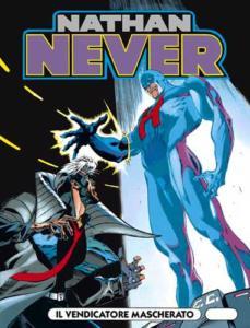 La copertina del numero 49 di Nathan Never
