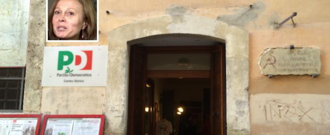 Il Pd perde anche la segretaria della storica sezione Pci in via dei Giubbonari