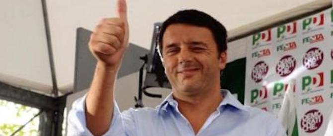Renzi, buona la prima: «Se perdo, vado via». Poi smentisce: «Non mollerò mai»