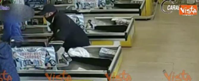 """Roma, arrestato un rapinatore """"seriale"""": oltre 20 colpi per 17mila euro (video)"""