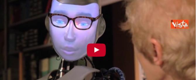 """Un robot a teatro: successo virale della pièce """"Spillikin"""" a Londra (video)"""