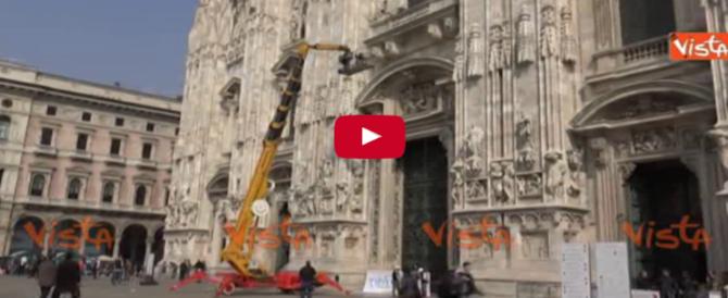 Il Papa a Milano si prepara a un'accoglienza da pop star (video)