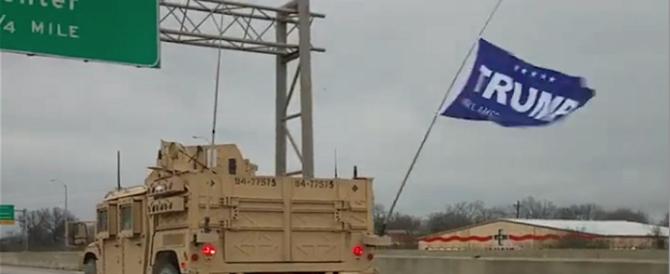 Sventolarono la bandiera di Trump, processo ai militari Usa (video)