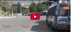 Al via il corteo Eurostop, quello in cui potrebbero essersi infiltrati i black bloc (video)