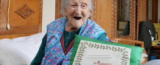 Festeggia l'8 marzo anche la donna più anziana del mondo: italiana, 117 anni