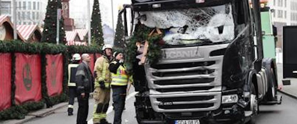 Germania, la strage di Natale al mercatino di Berlino