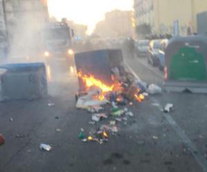 Corteo anti-Salvini, ecco le devastazioni dei teppisti di sinistra (foto)