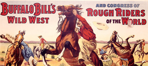 Quando i butteri pontini umiliarono nella doma i cow boy di Buffalo Bill