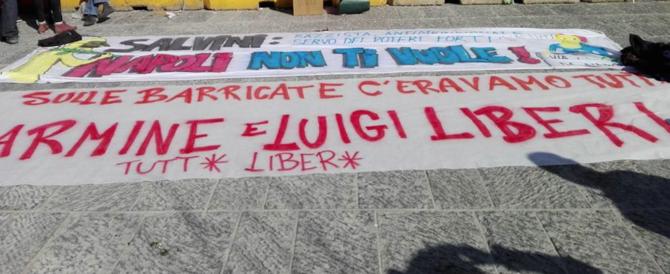 Napoli, i centri sociali tornano in piazza per chiedere la liberazione dei fermati