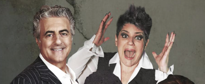Al Salone Margherita le nozze gay di Pingitore sono tutte da ridere