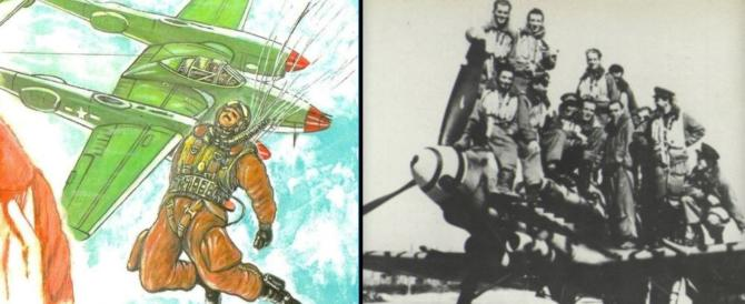 Angelo Zaccaria, mitragliato dopo che si era lanciato col paracadute