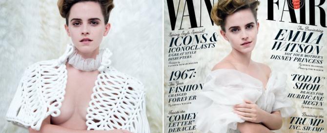 """Emma Watson: """"Anche se mi spoglio resto femminista"""" (VIDEO)"""