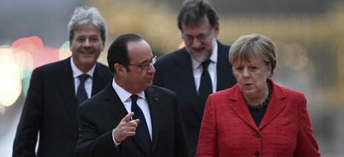 Vertice Ue a Versailles, passa la linea Merkel dell'Europa a due velocità