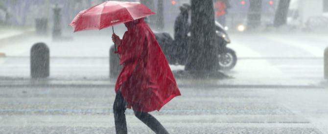 Da domani torna l'inverno: temporali e brusco calo delle temperature