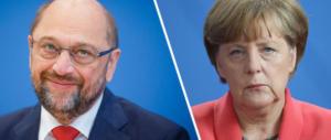 Merkel batte Schultz nel test elettorale della Saar. Avanza Afd