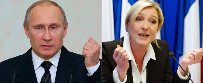 Putin incontra a sorpresa Marine Le Pen: «Uniti contro il terrorismo»