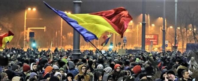 Romania, proteste senza fine: in piazza da giorni contro le sinistre