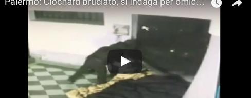 Senzatetto bruciato vivo a Palermo: le immagini del killer in azione (VIDEO)