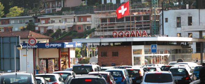 La Svizzera xenofoba chiude le dogane con l'Italia per bloccare i ladri
